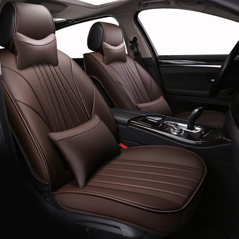 ( Front + Rear ) Special Leather car seat covers For <font><b>Lexus</b></font> All Models GX460 <font><b>GX470</b></font> GX400 car <font><b>accessories</b></font> car-styling image