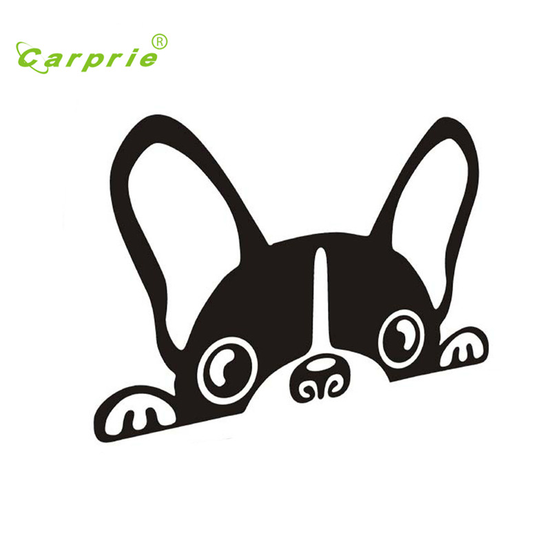 Auto car stickers Cute Dog Waterproof DIY vehicle Body Emblem Badge car styling car-covers personality auto accessories Jul15