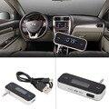 Sem fio bluetooth transmissor fm mp3 player car kit carregador para iphone 6 5s dispositivos eletrônicos com tomada de 3.5mm fones de ouvido