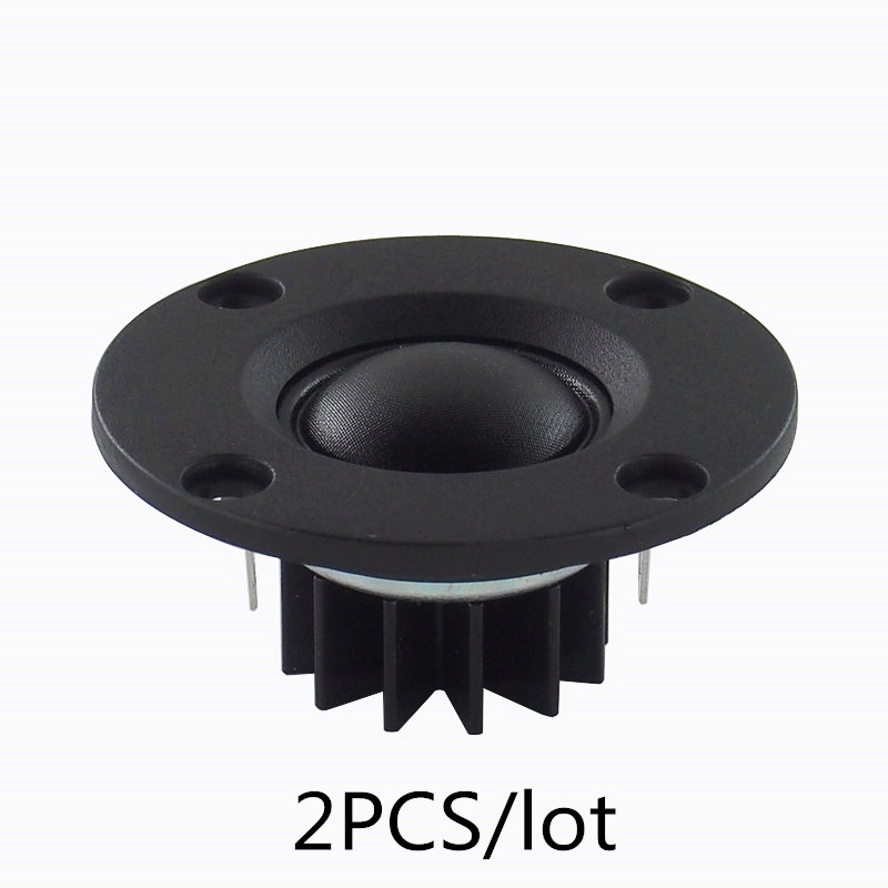 Finlemho Speakers MK10 Tweeter Horn Treble Silk Spraakspoel 6 Ohm voor 2-Way Full Range Thuistheater DJ Boekenplank HiFi Audio