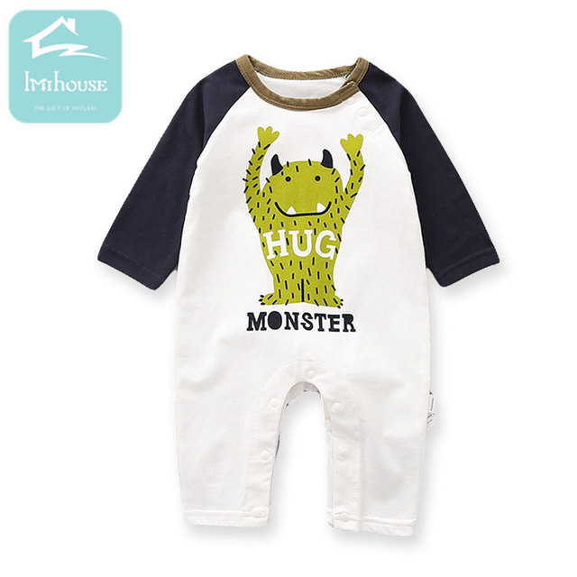 0e4bdf785 3M 24M 2018 Spring and Autumn Models Baby Boy Clothes Long Sleeve ...