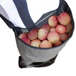 Uprawiana torba do zbierania owoców jabłko do zbierania warzyw fartuch Oxford tkaniny do zbierania fartuch worek do zbiórki o dużej nośności