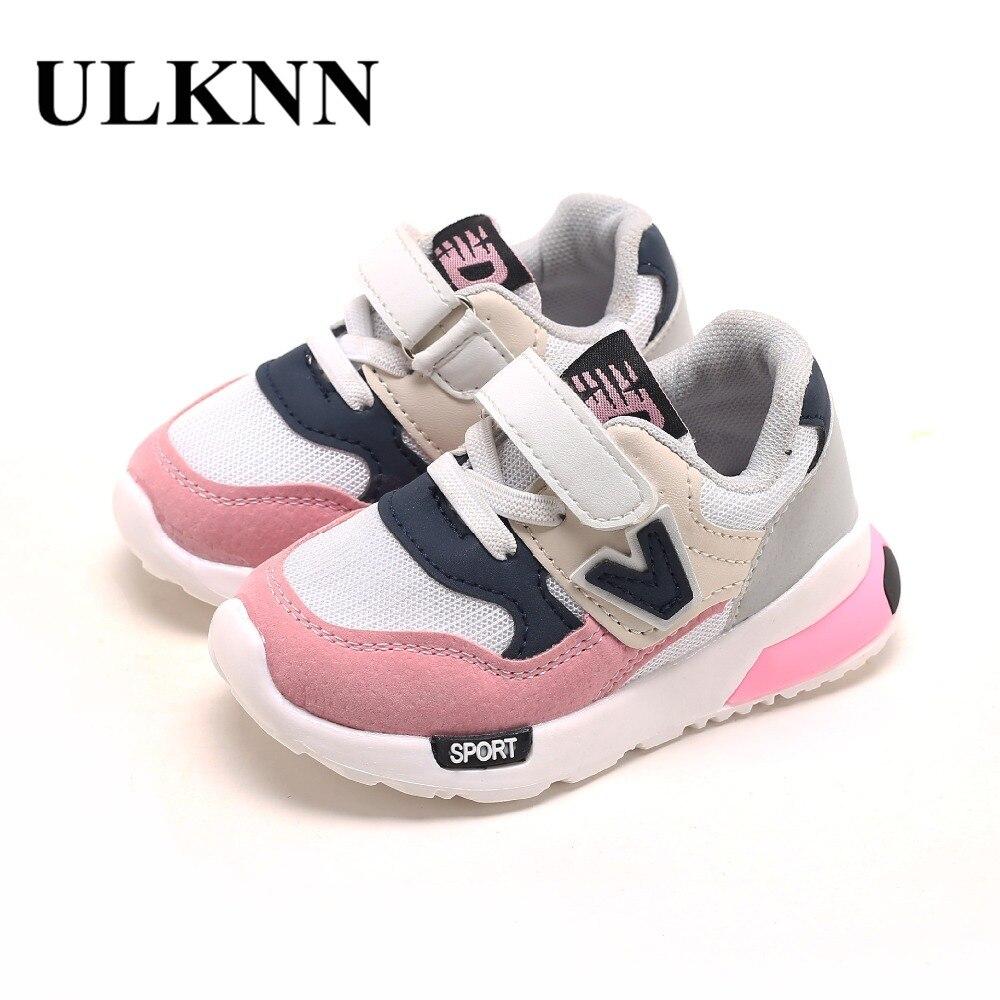 5686fc64cf1 ULKNN Kids Casual Shoes Toddle Baby Boys Prodyšný tenisky Dětské ...