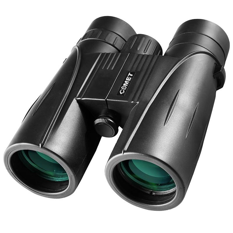 Telescope 8x42 Binoculars With Bak4 Prism Waterproof Telescopio Focuser For Camping Hand Focus Travel Hiking Birdwatching Tools