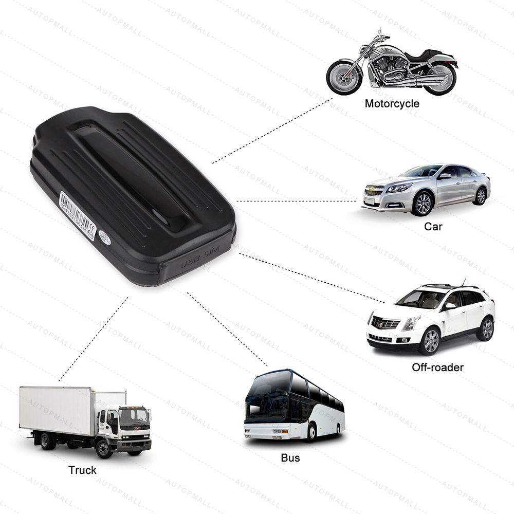 3G GPS Tracker Car GPS Locator LK209A WCDMA GSM GPRS Realtime Tracking Strong Magnet 6000mAh Standby 70 Days Dropped Alarm Ublox