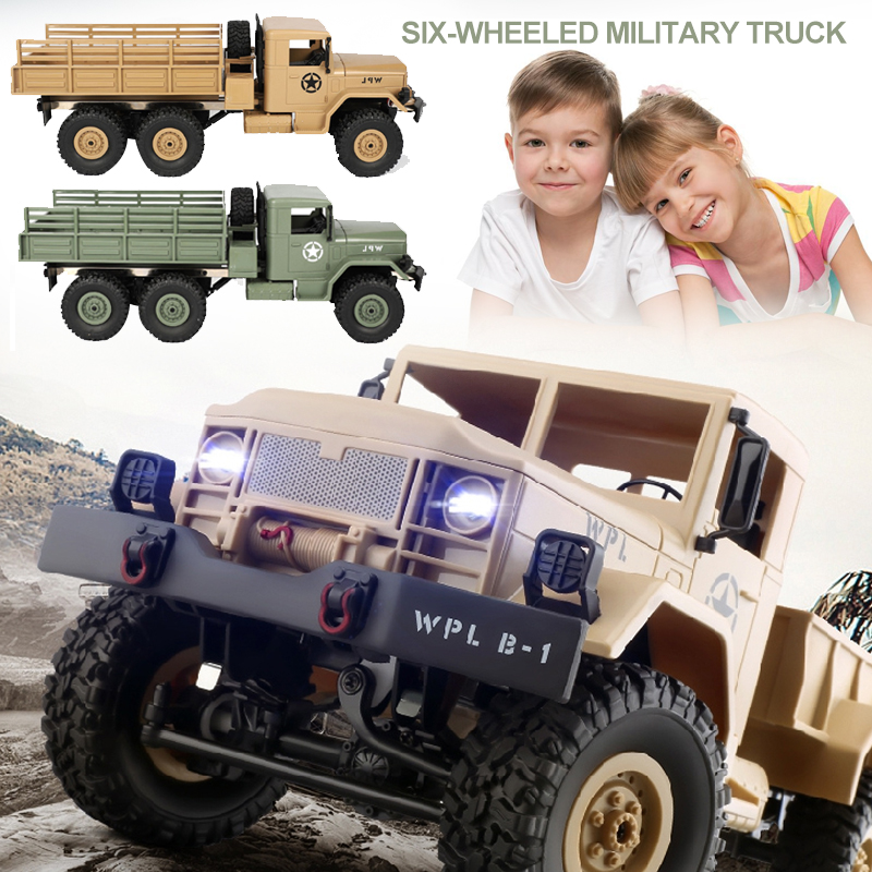 RC Car Toy Car Truck 6WD 1:16 2.4G B-16 Remote Control Electronic for Wpl Battery-Operated Powerful Desert BuggyRC Car Toy Car Truck 6WD 1:16 2.4G B-16 Remote Control Electronic for Wpl Battery-Operated Powerful Desert Buggy