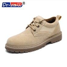 2017 Zapatillas Hombre Dr wall Autumn Winter Fashion Men Oxford font b Shoes b font Leather
