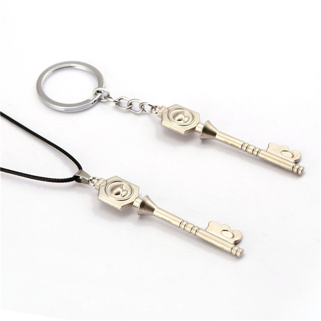 Fairy Tail Lucy Cosplay Twelve Spirit little Dog Key Shape Keychain