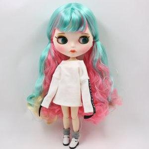 Image 4 - Buzlu blythe fabrika bebek için uygun elbise kendiniz DIY değişim 1/6 BJD oyuncak özel fiyat OB24b küresel mafsal