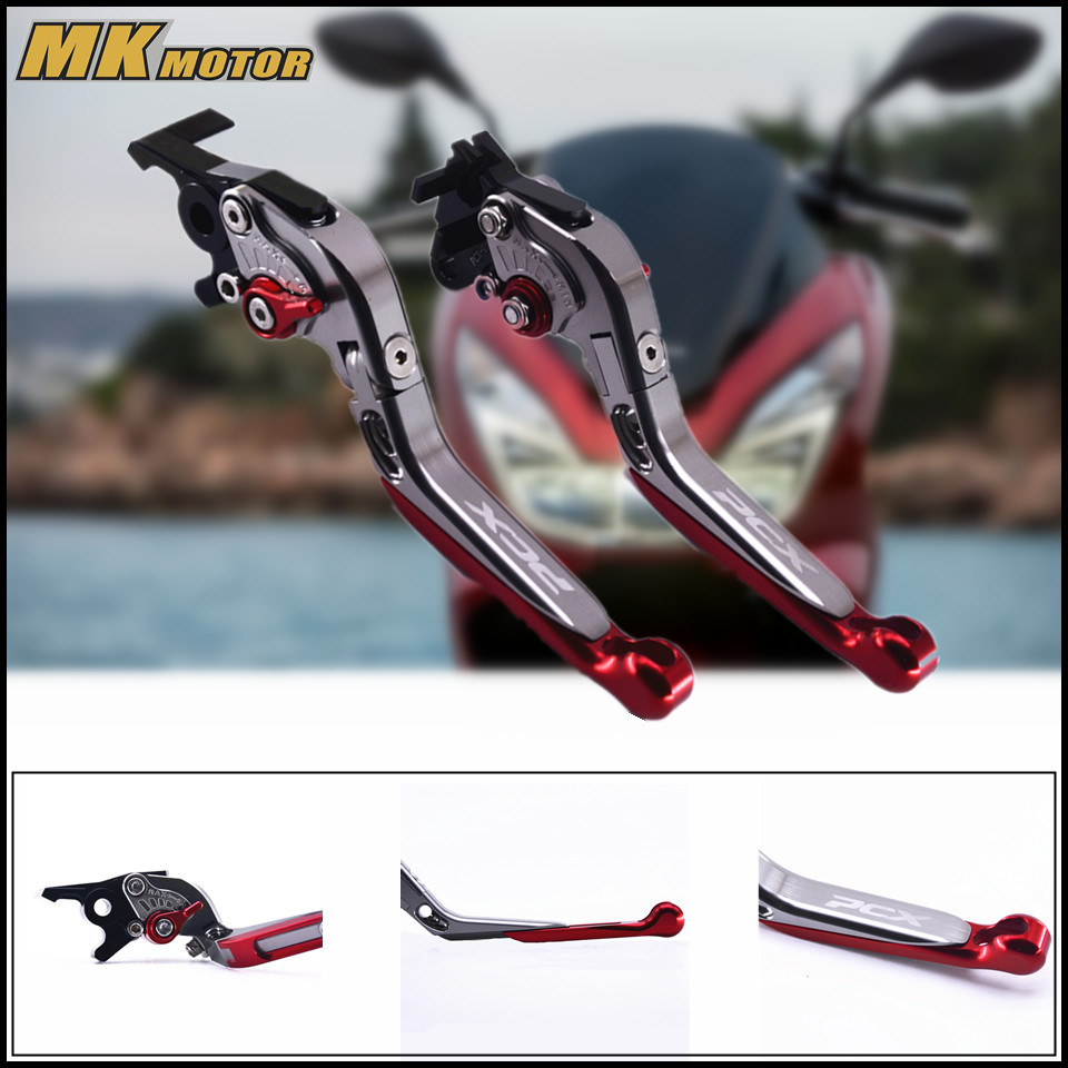 For Honda PCX 125/150 CNC Motorcycle Accessories Foldable Extending Brake Clutch Levers прокладки клапанной крышки honda vtr1000f