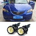 2x White LED Eagle Eye DRL Luz de Estacionamento Para Mazda 3 6 cx-5 cx5 cx7 2 626 cx 5 323 atenza axela mx5 rx8 cx-7 spoilers cx3 demio
