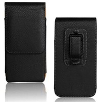 Belt Clip PU Leather Waist Holder Flip Cover Pouch Case For Explay Easy Atv Space N1