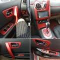 Car-Styling 3D/5D Carbon Fiber Car Interior Center Console Color Change Molding Sticker Decals For Nissan Qashqai 2006-2015 J10