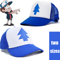 Dipper Gravity Falls Cartoon New Curved Bill BLUE PINE TREE Hat Cap Trucker Adult Kids Boys