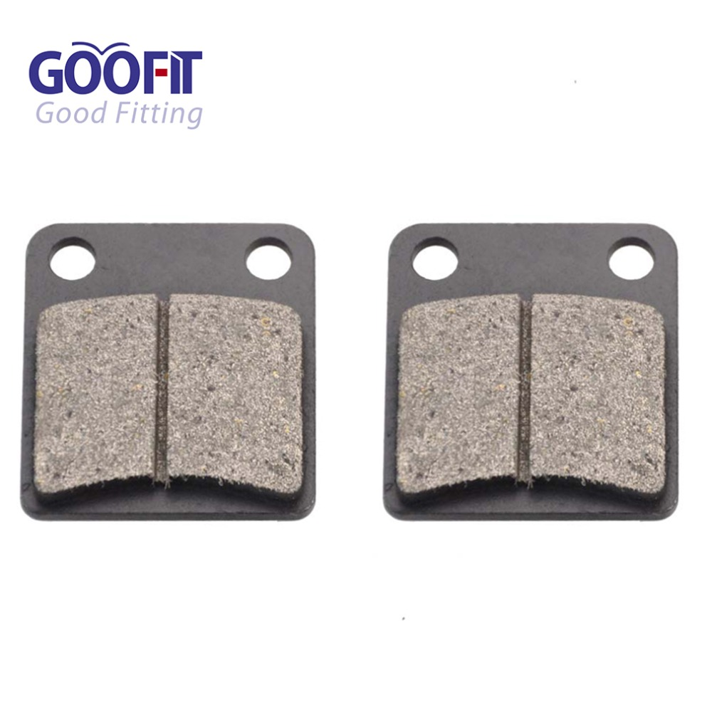 GOOFIT Rotors de disque de frein pour 110cc 125cc 150cc 200cc 250cc ATV Pièces détachées auto