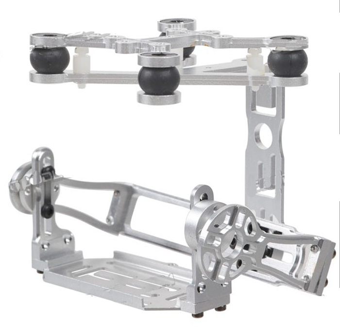 ФОТО F05448 New Aluminum Brushless Gimbal Camera Mount PTZ Special for Gopro 3 FPV Aerial Photography Multicopter