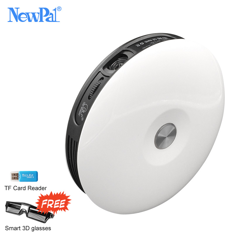 Newpal M17 домашний проектор 3000 люмен Поддержка 1920×1080 P Android WI-FI лучемет с 4000: 1 Контрастность WI-FI проектор