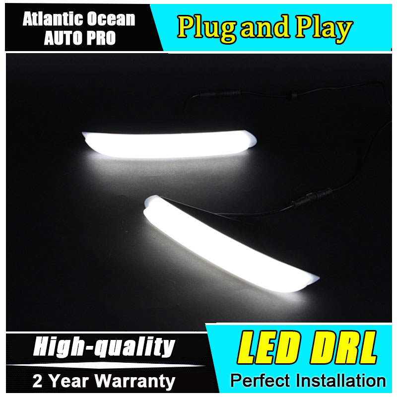 JGRT car styling For peugeo 408 2013-2014 LED DRL For 408 2013-2014 led daytime running light High brightness guide LED DRL
