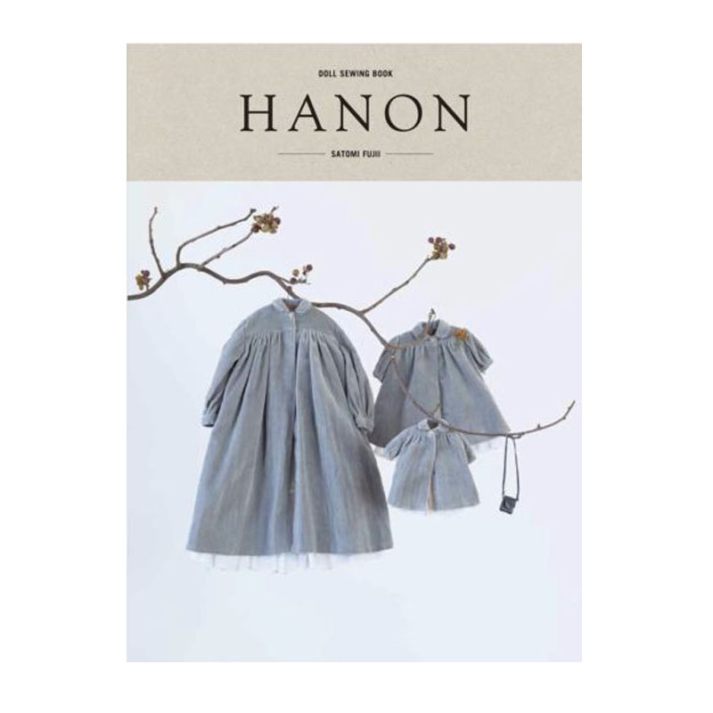 HANON- DOLL SEWING BOOK Blythe Outfit Clothes Patterns JP/English With Tracking Classic Weaving Book