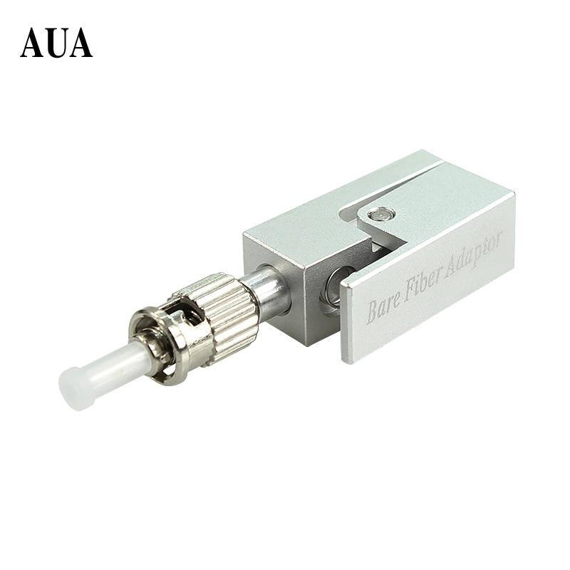 Free Shipping ST Fiber Flange Fiber Square Type ST Bare Fiber Adaptor ST Bare Fiber Adapter