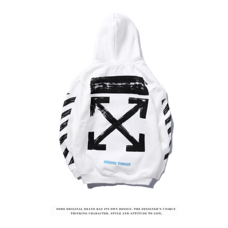 9582c133e901 Aliexpress.com   Buy Off white hoodie brand sketch graffiti fashion hoodies  from Reliable Hoodies   Sweatshirts suppliers on IVESport Store