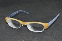 Women Lady 80S style Retro high myopic high myopia 1.56 index lenses glasses -11 D PD 64