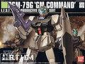 Bandai HGUC 46 RGM-79G GM Command Colony type Gundam Model Kits Assembled Model Huge Model scale model