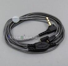 Blanco Y negro Con Gancho Del Auricular Cable de Audio Para la Máxima Ears UE TF10 SF3 SF5 5EB 5pro TripleFi 15vm TF15 LN005490