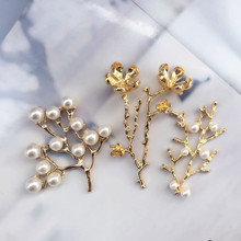 3pcs/set 3D Handmade beaded flowers Patches for clothing DIY sequins rhinestone parches Beaded floral applique collar patch