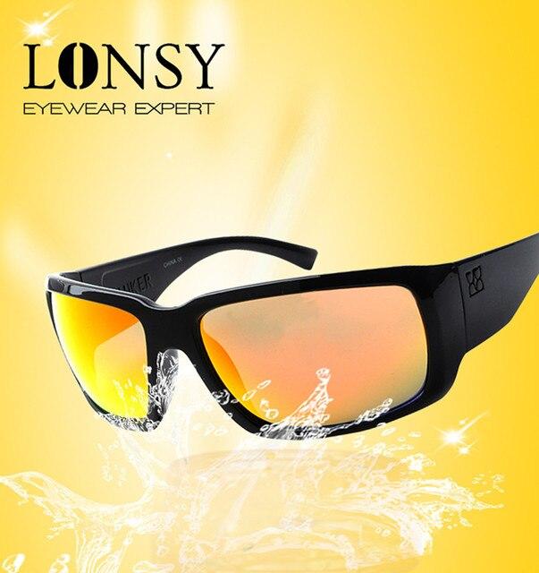 Nuevas gafas De Sol hombres conducción gafas De Sol hombres marca diseñador  moda Oculos hombre deportes gafas De Sol Oculos De Sol Feminino 9586ba30c367