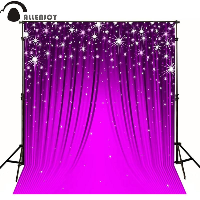 Allenjoy photographic background Purple abstract shine Curtain photography fantasy professional fabric fabric vinyl fondos