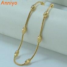 Anniyo 45CM/ Necklace Gold Color Jewelry Fashion Chain Women