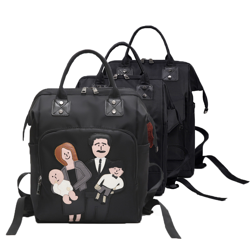 New Fashion Mommy Bag Baby Diaper Bags Mother Baby Travel Backpack Baby Stroller Bag Cute Korea Girls Boys School Backpack