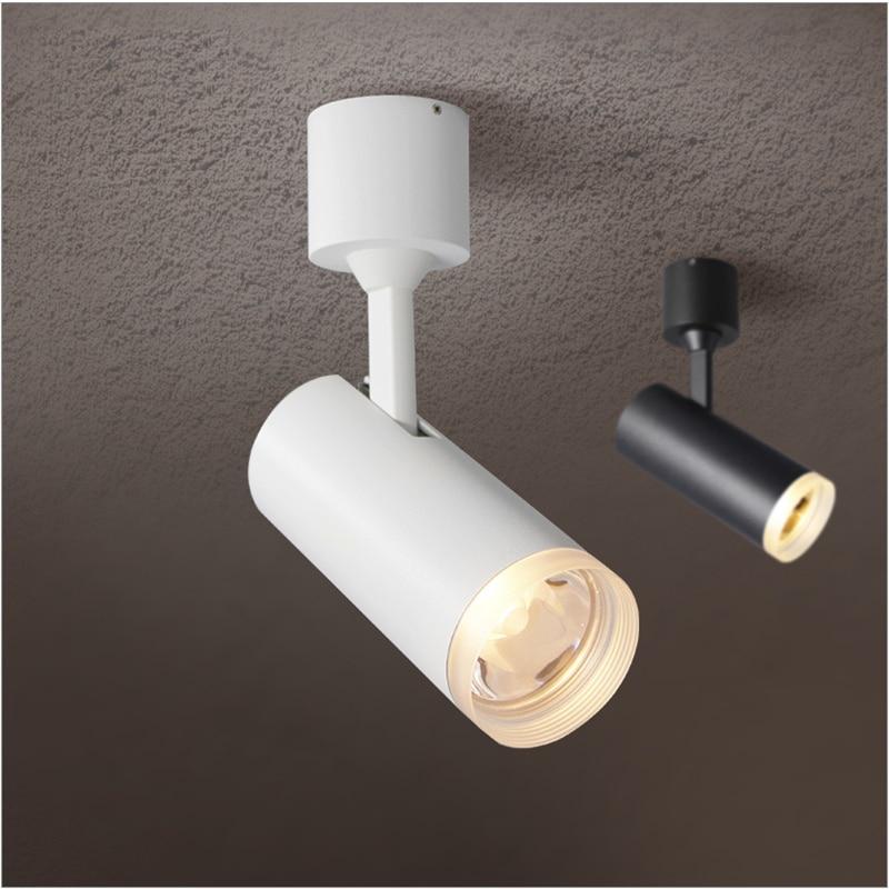 85-265Vac input 5-9W LED surface mounted ceiling lamp , rotatable COB spot lamp with PMMA shiled,anti glare soft light дополнительная фара gofl glare of light gl 0470 3311