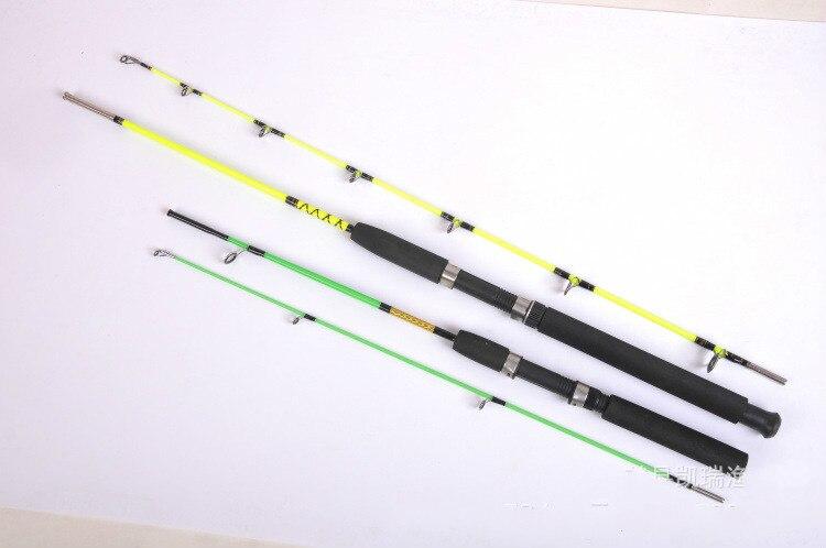 цена на 1.6,1.8,2.1,2.4,2.7,3.0m New Lure Rod Ice Fishing Rod Color Yellow Green