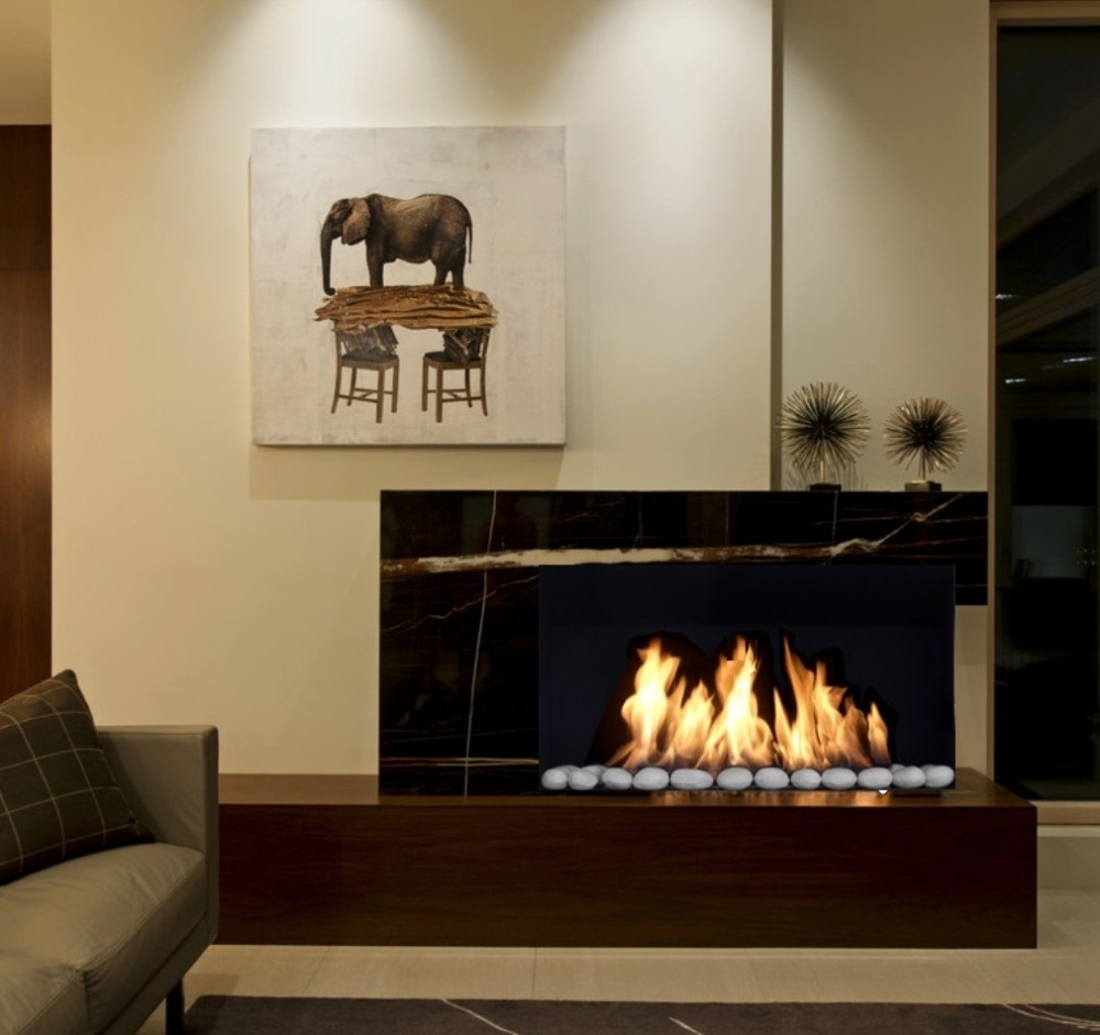 Inno Living Fire 36 Inch 90cmelectric Smart Burner Ethanol Fireplace Modern