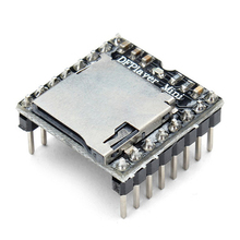 Hot Deal DFPlayer Mini MP3 Player Module For Arduino Black
