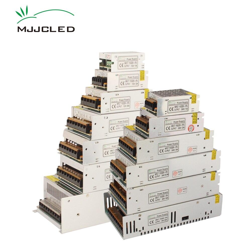 12 ボルト電源 24 ボルト 5 V 36 V 48 V 電源 12 V LED ドライバアダプタ AC DC 24 V 5 ボルト 36 ボルト電子トランス