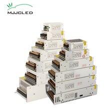 12 Volt Güç Kaynağı 24 Volt 5 V 36 V 48 V Güç Kaynağı 12 V LED Sürücü Adaptörü AC DC 24 V 5 Volt 36 Volt elektronik transformatör