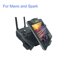 DJI Mavic Spark remote control Accessories 7-10 Pad Mobile Phone Holder aluminum Flat Bracket tablte stander Parts not PGYTECH