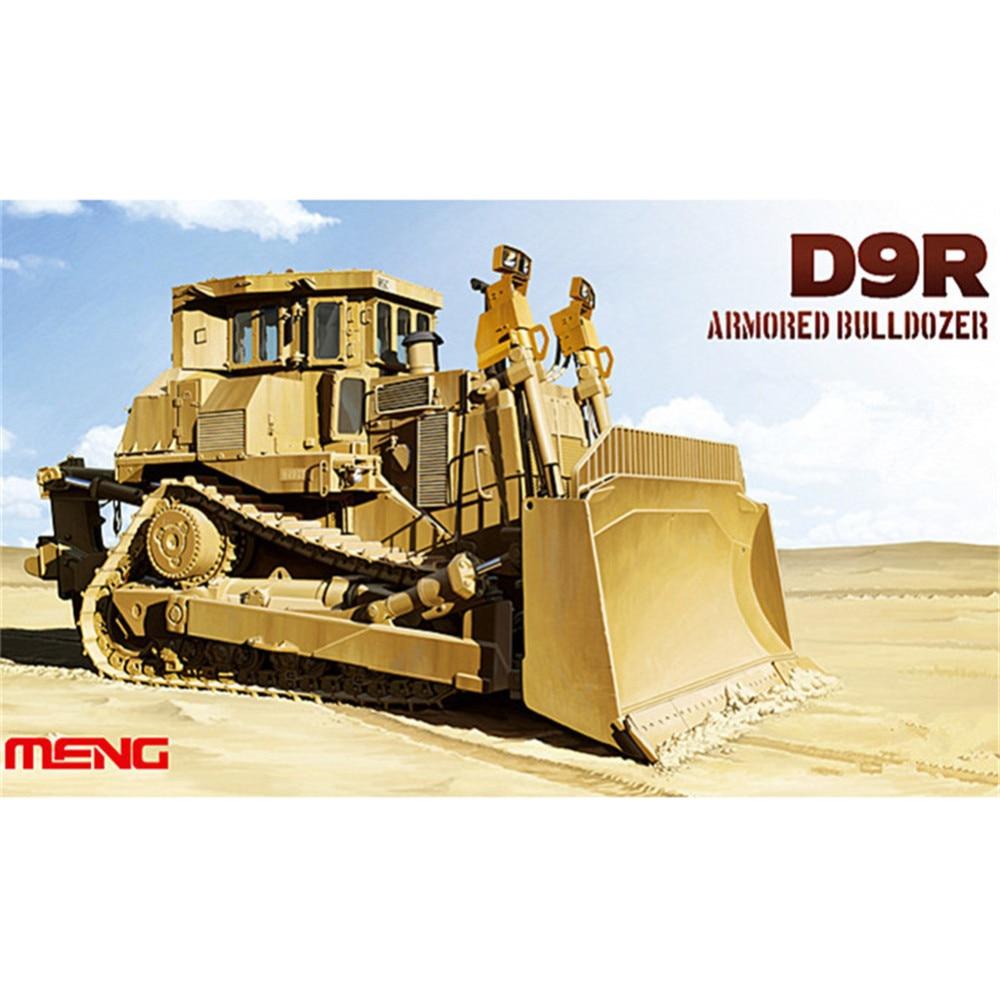 OHS Meng SS002 1/35 D9R Armored Bulldozer Military Plastic Truck AFV Model Building Kits oh ohs meng ts007 1 35 german main battle tank leopard 1 a3 a4 afv model building kits
