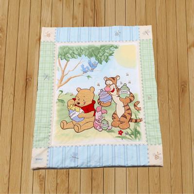 Promoção! dos desenhos animados Do Bebê Berço Cama Conjuntos de Cachecol Para As Crianças Do Bebê Do Algodão Colcha de edredão do bebê colcha de bebê