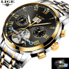 LIGE Top Brand Luxury Men S Sports Watches Men Waterproof Mechanical Watch Man Full Steel Military