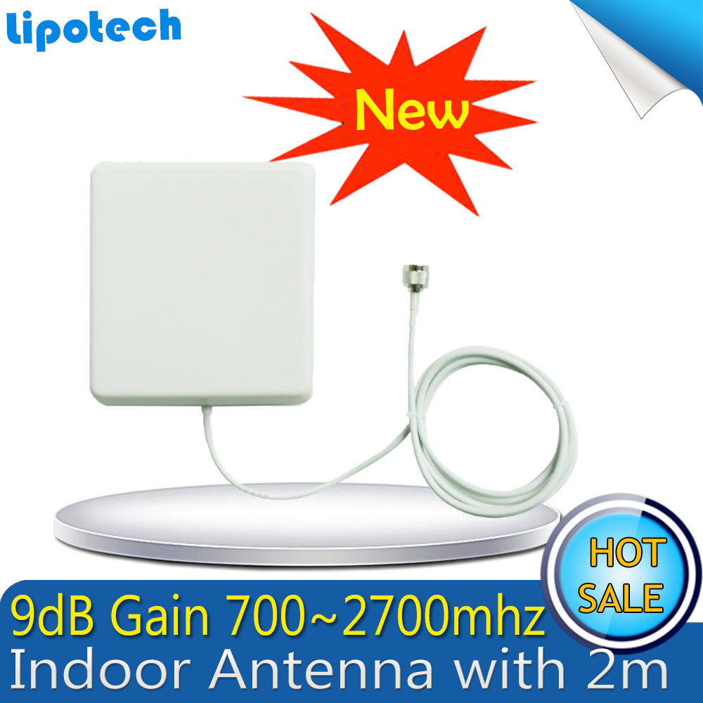 Répéteur Lintratek GSM 900 LTE 1800 amplificateur de Signal cellulaire pour téléphone portable 65dB 2G 4G GSM DCS répéteur de téléphone portable antendor Antena - 3