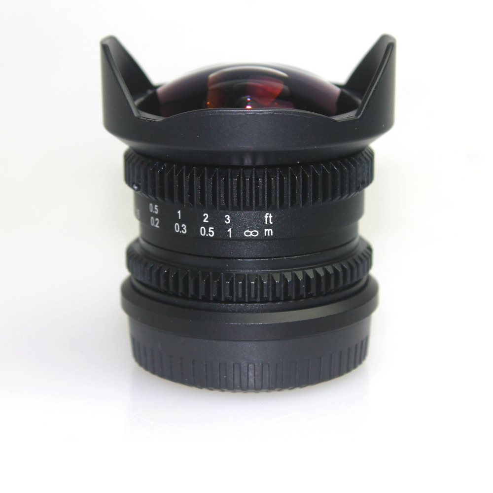 APS-C Fish Eye Lens 8mm F2.8 for Fujifilm FX Mount Camera XT1 XT10 XE1 XE2 XM1
