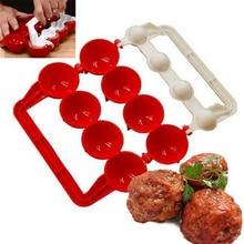 1 шт., новая форма для фрикаделек, для изготовления рыбных шариков, для рождественской кухни, для самостоятельной набивки пищи, для приготовления пищи, Шариковая машина, кухонные инструменты, аксессуары