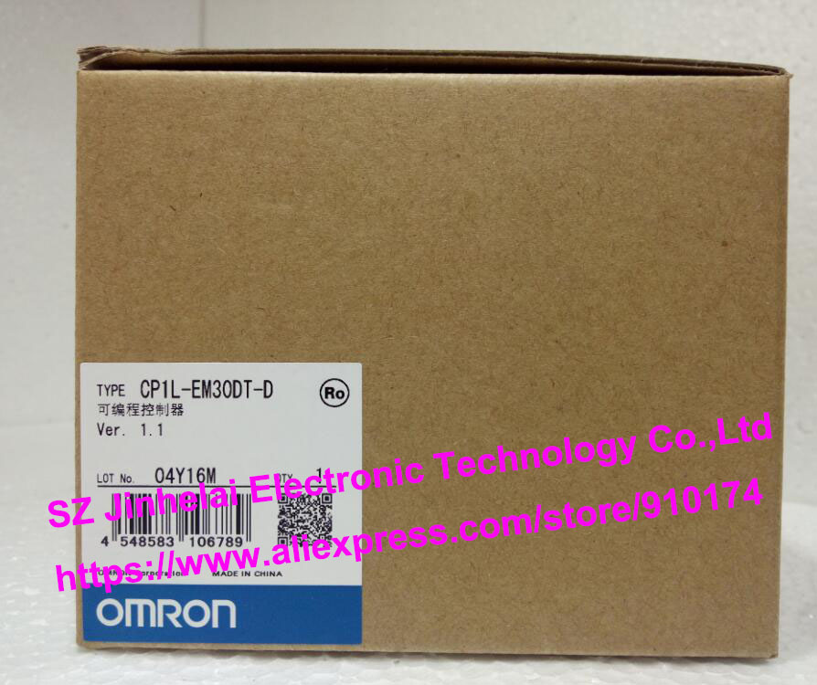 100%New and original  CP1L-EM30DT-D  OMRON  PLC CONTROLLER [zob] 100% new original omron omron proximity switch e2e x10d1 n 2m