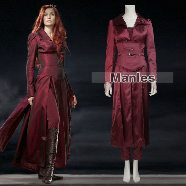 4c7919a8a X-men Jean Grey Costume The Last Stand Jean Grey Cosplay Dark phoenix Red  Suit Halloween Costume Adult Women Marvel Movie Female