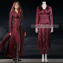 Movie Coser X-men Jean Grey Costume X-men Dark phoenix Jean Grey Cosplay Costume Red Suit Halloween Costume for Women