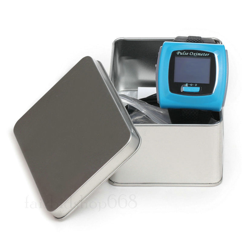 CMS50F Color Wrist Oximeter FDA CE Approved Finger Pulse oximeter with SPO2 Software Oximetro de dedo new type wearable ce and fda approved cms50f fashion portable finger tip wrist pulse rate meter wrist watch usb cable software